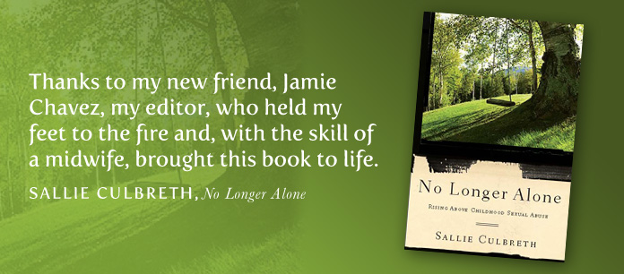 No Longer Alone book cover